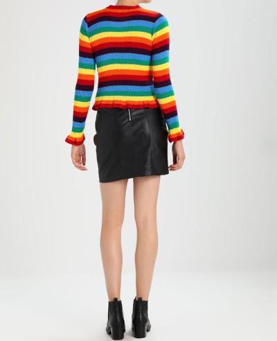 Alibaba-Fashion-Leather-Skirt