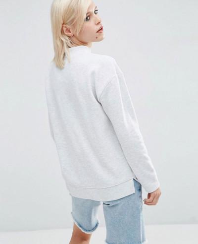 All Best Selling Women High Neck Sweatshirt