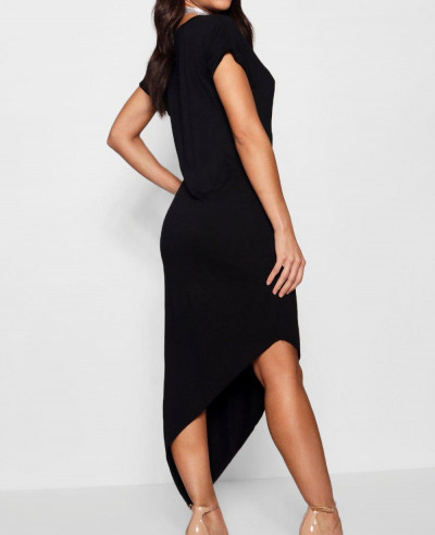 Asymmetric-T-Shirt-Midi-Dress