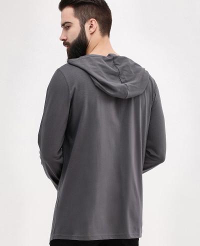 Asymmetrical Zipper Hoodie