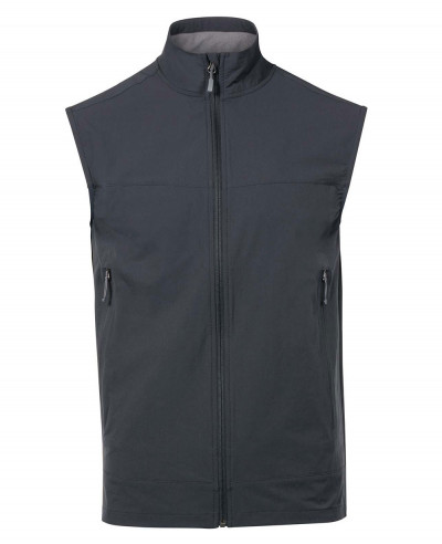 Blue Softshell Vest Gilet