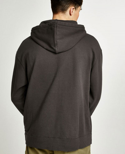 Brown Pocket Pullover Stylish Hoodie