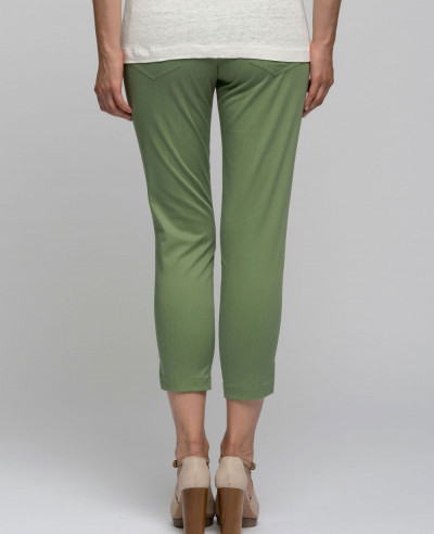 Capri-Pants-Cotton-Twill-Jogging-Trousers