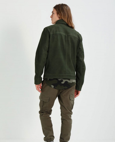 Classic-Suede-Leather-Jacket-With-Pockets