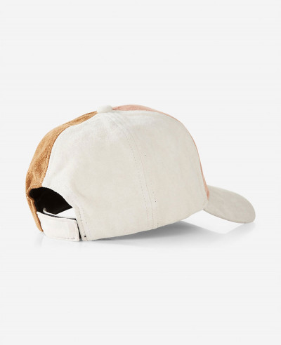 Color-Block-Faux-Suede-Baseball-Hat