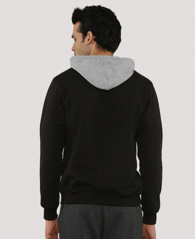 Colour Block Men Hoodie
