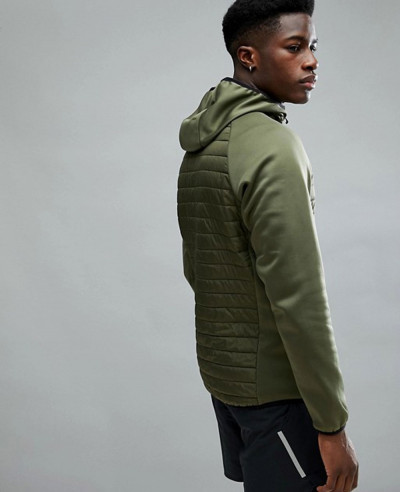 Core Performance Multi Green Padded Jacket