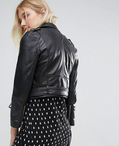 Cropped-Leather-Biker-Jacket-With-Belt