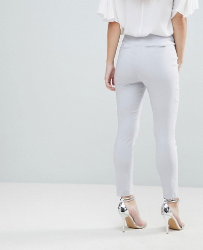 Design-Petite-High-Waist-Trousers-In-Skinny-Fit