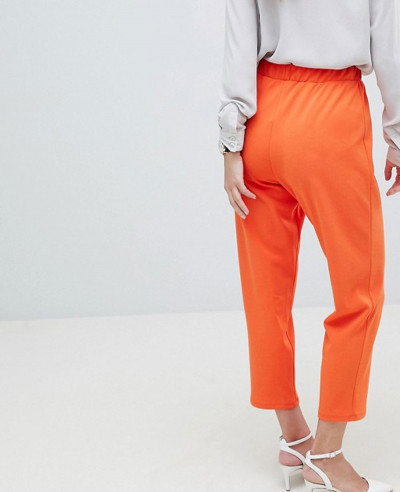 Design-Pull-On-Tapered-Trousers-In-Jersey-Crepe