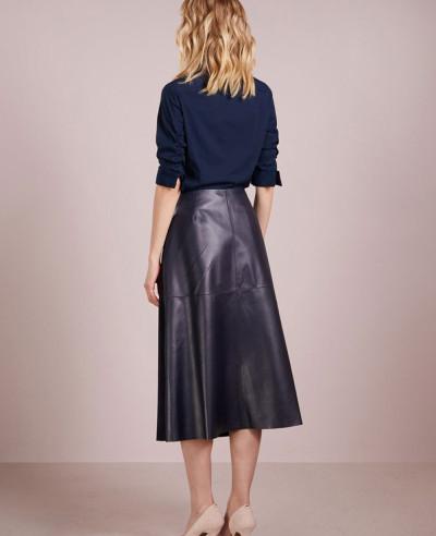 Fashion-Leather-Pencil-Skirt