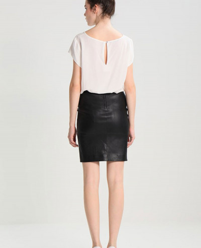 Fashion-Leather-Skirt