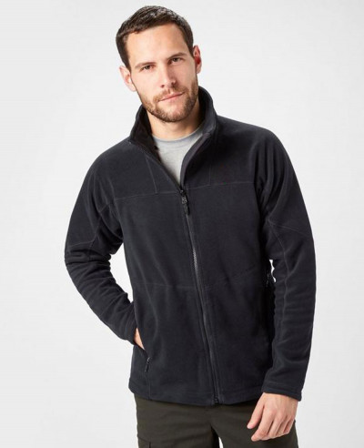 Fashionable Full Zipper Micro Fleece Jacket