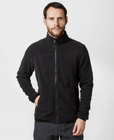 Full Zipper Stylish Men Fleece Jacket