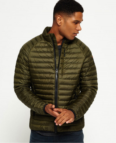 High Quality Men Custom Padded Puffer Core Down Jacket
