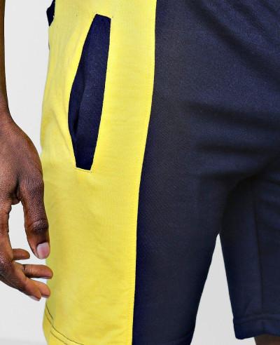 High-Quality-Men-Custom-Stylish-Spliced-Jersey-Shorts-