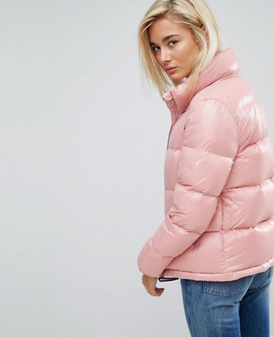 High-Shine-Quilted-Padded-Down-Jacket