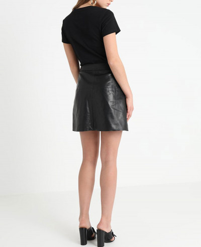 Hot-Selling-Fashion-Leather-Skirt