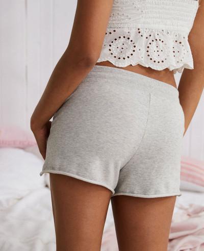 Hot-Selling-Fleece-Grey-Short