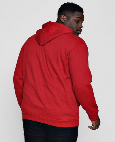 Hot Selling Men Big And Tall Hoodie In Fleece