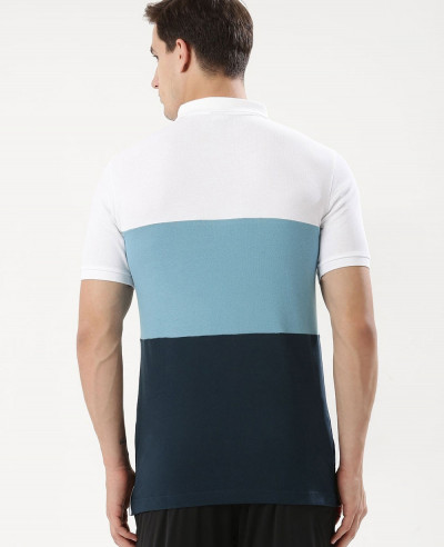Hot-Selling-Men-Colour-Block-Polo-Shirt