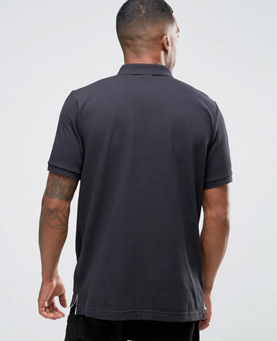 Hot Selling Men Matchup Polo Shirt In Black