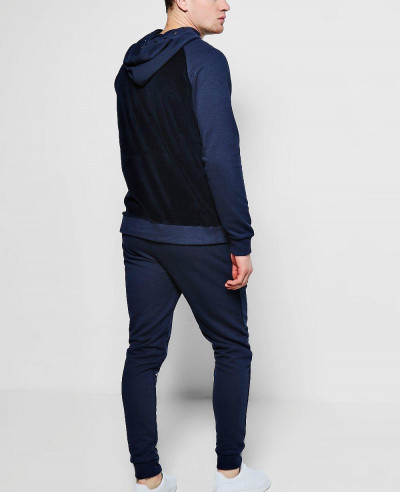 Hot-Selling-Skinny-Fit-Velour-Tracksuit