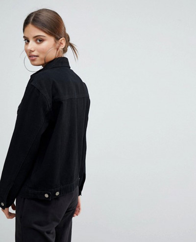 Hot-Selling-Stylish-Black-Denim-Jacket