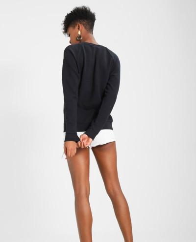 Hot Selling Women Black Sweatshirt