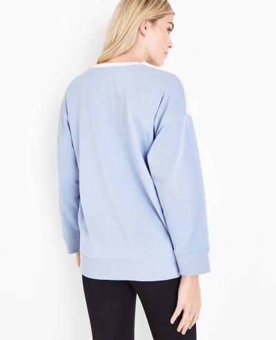 Hot Selling Women Colour Block Sweatshirt