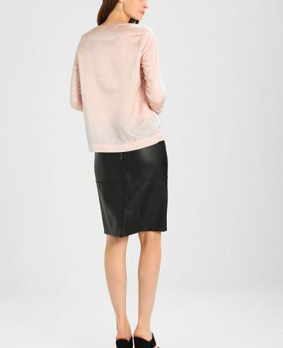 Hot-Selling-Women-Custom-Leather-Pencil-Skirt