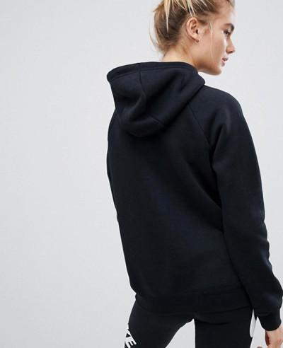 Kangaroo-Pocket-Black-Longline-Hoodie
