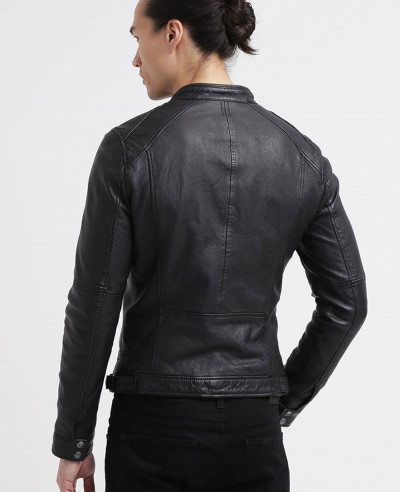 Men Biker Stylish Classic Leather Jacket