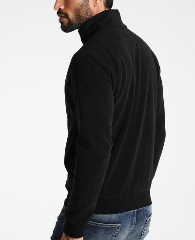 Men Black Most Selling Fleece Jacket