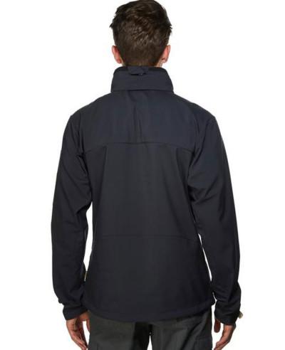 Men Black New Fashion Softshell Jacket