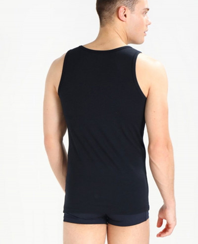 Men-Black-Sleeveless-Stylish-Tank-Top