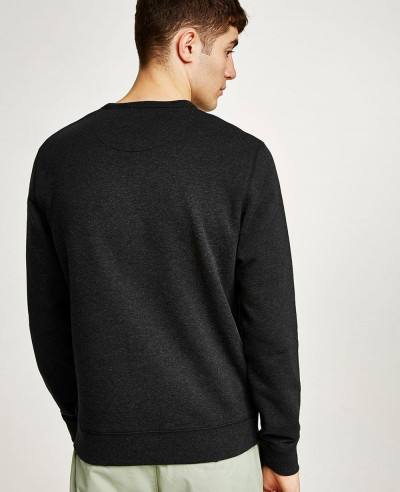 Men Black Sweatshirt