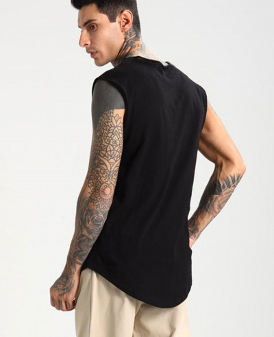 Men-Black-Tank-Top-Vest