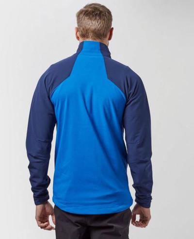 Men Blue Custom Softshell Jacket