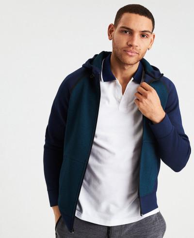 Men Full Zipper Custom Stylish Hoodie
