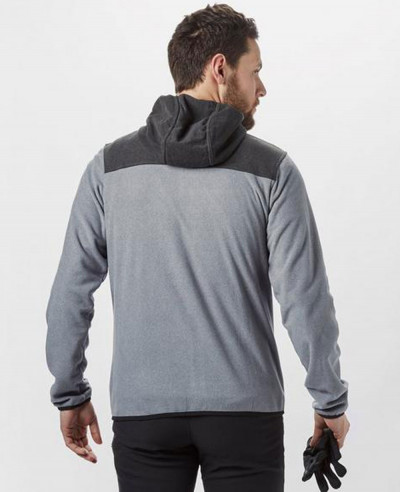 Men Full Zipper Fleece Hoodie