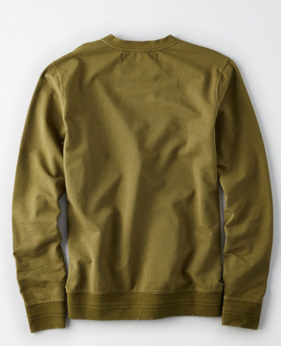 Men Green Love Colour Hot Sweatshirt