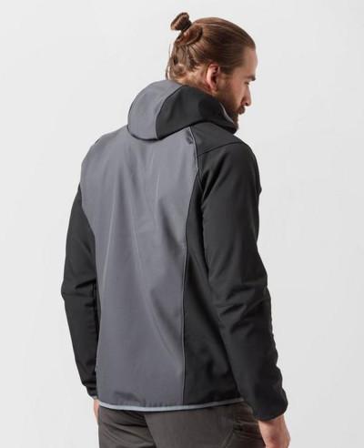 Men Grey Most Selling Softshell Jacket