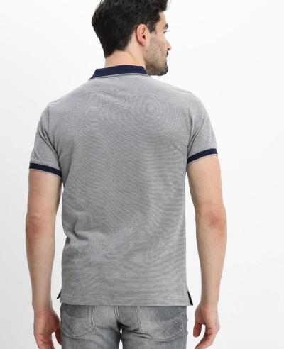 Men Grey Polo Shirt