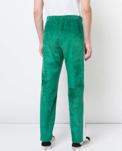 Men Hot Selling Custom 100% Genuine Suede Leather Pants