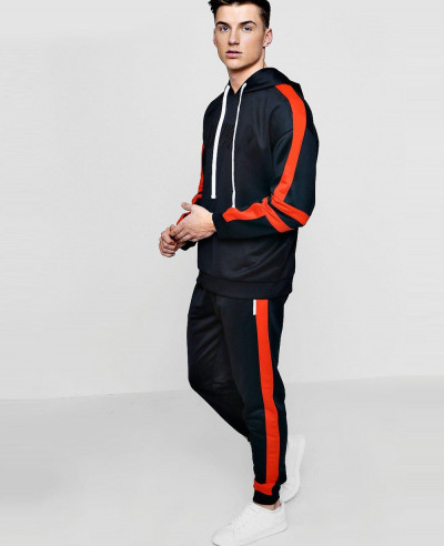 Men Hot Selling Custom Oversized Tracksuit In Tricots