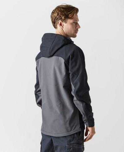 Men Most Selling Custom Hooded Softshell Jacket