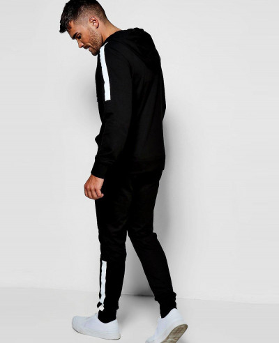 Men Most Selling Skinny Fit Biker Panel Tracksuits