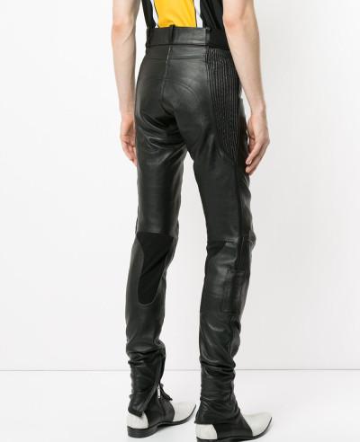 Men Pencil Pants Boys Punk Rock Trousers Trendy Faux