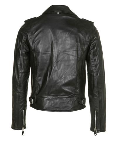 Men Shorts Sheep Leather Jacket